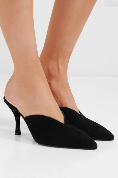 Prada Mules From Suede
