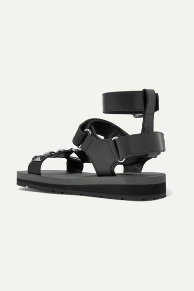 Prada Sandalen   Sandalen Prada aus Leder mit Nieten 66fc9b
