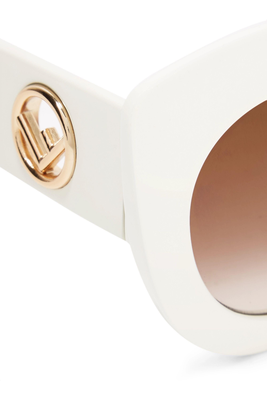 Fendi Cat-eye acetate sunglasses