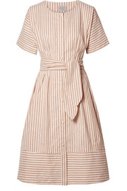 Jason Wu GREY Striped canvas dress