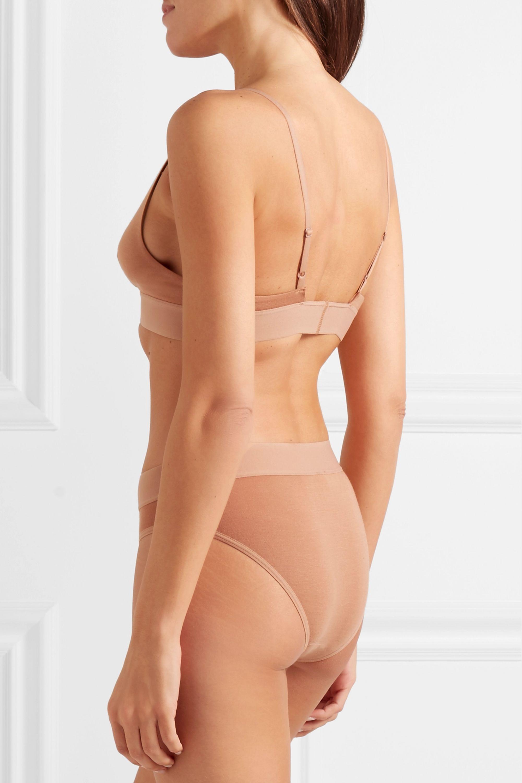 Baserange Set of two stretch-bamboo triangle bras