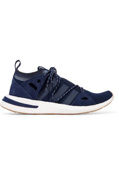 adidas Originals Baskets en résille et en daim Arkyn NET A