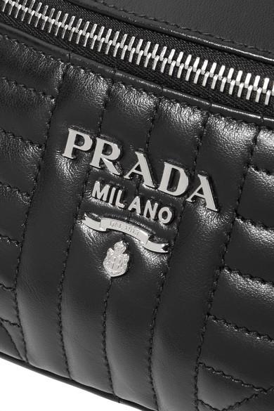 0c458dd967 Prada. Quilted leather belt bag.  1