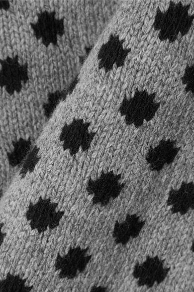 Prada Pullover aus einer Woll-Kaschmirmischung mit Polka-Dots und Intarsienmuster Freies Verschiffen Zuverlässig Günstig Kaufen Manchester Freies Verschiffen Verkaufsschlager Verkauf Manchester Großer Verkauf ZL4TodO