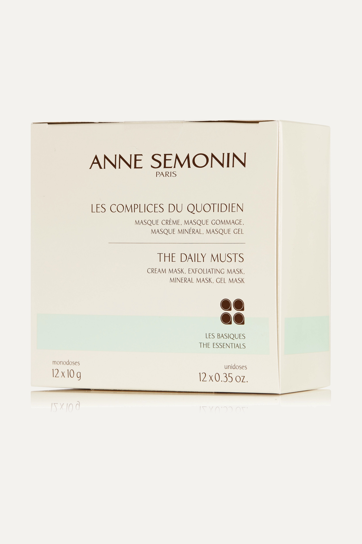 Anne Semonin The Daily Musts Mask Coffret, 12 x 10g