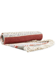 Bedouin round cotton-terry towel