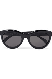 Alaïa Cat-eye acetate sunglasses