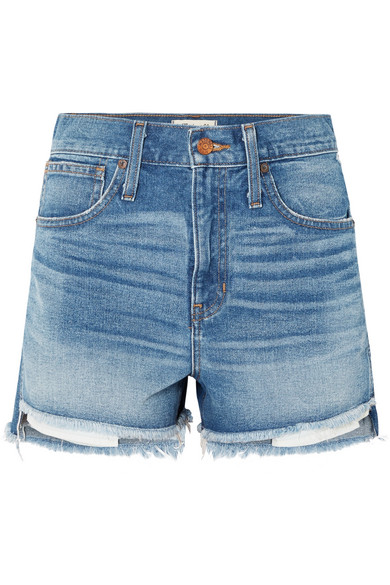 f29d3b5112 Madewell | The Perfect denim shorts | NET-A-PORTER.COM