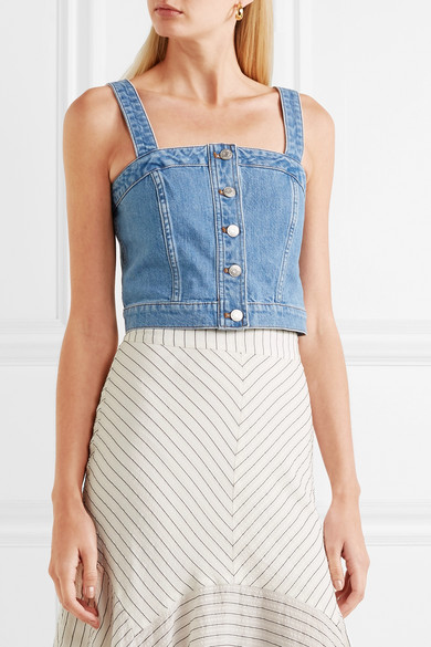 Denim Bustier Top by Madewell