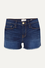Short en jean effilé Le Cutoff
