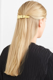 Alaria gold-tone hairclip