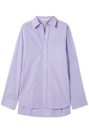 Masculin striped cotton-poplin shirt