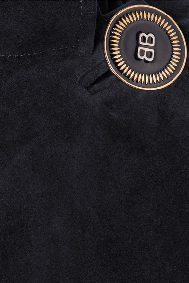 Balenciaga Mantel aus gebürsteter Baumwolle
