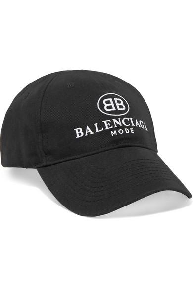 Balenciaga. Embroidered cotton-twill baseball cap 87d3697849c