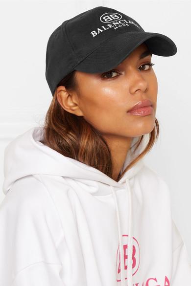 3587e4b2ca7 Embroidered cotton-twill baseball cap