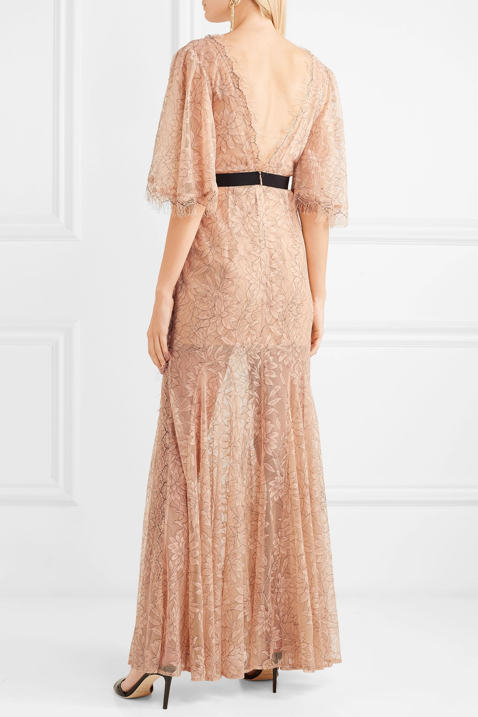 alice McCALL Look Good Feel Good lace gown