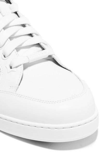 Jimmy Choo Miami Sneakers aus Leder Billig 2018 Verkauf Truhe Bilder Footlocker Finish Online Jb4LOeA