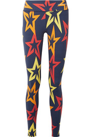 Starlight printed stretch leggings