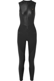 Lucas Hugh Kubrick paneled stretch bodysuit