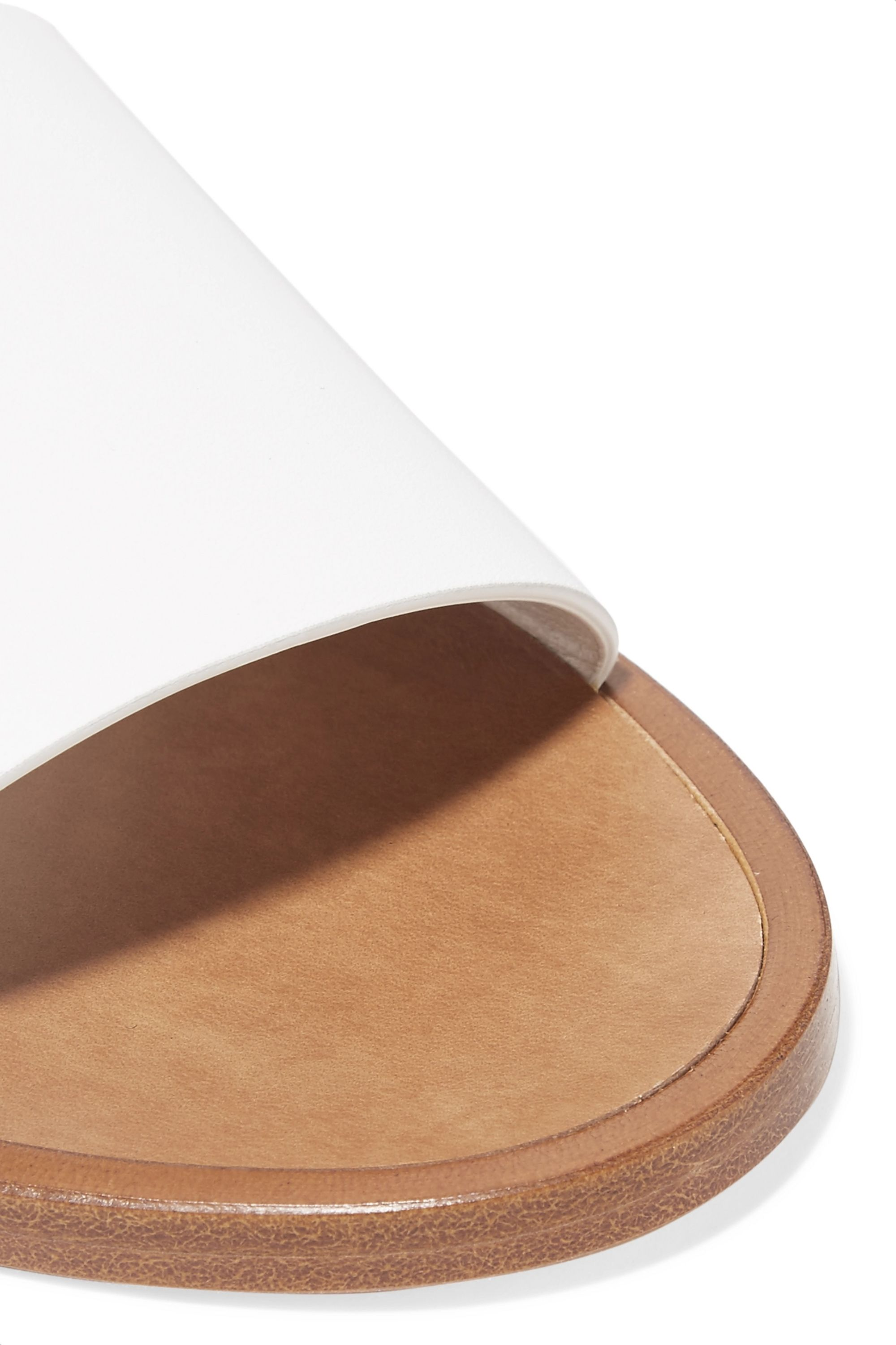 Common Projects Leather slides