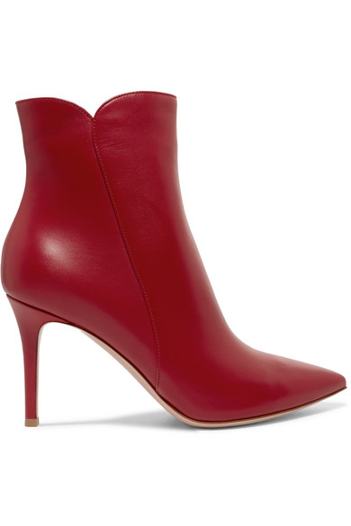 Gianvito Rossi Ankle   Levy 85 Ankle Rossi Boots aus Leder 32ad87