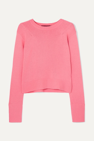 Sies Marjan - Exclusive Wool And Cashmere-blend Sweater - Pink