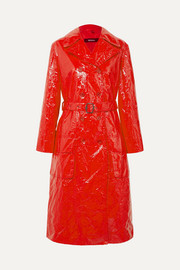 Sies Marjan EXCLUSIVE Bessie crinkled-vinyl trench coat