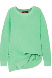 Sies Marjan Fern Pickup asymmetric cotton sweater