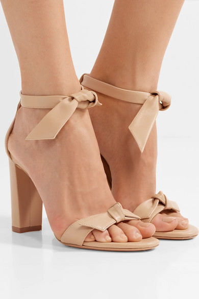 c9dc8539321 Alexandre Birman. Clarita bow-embellished leather sandals