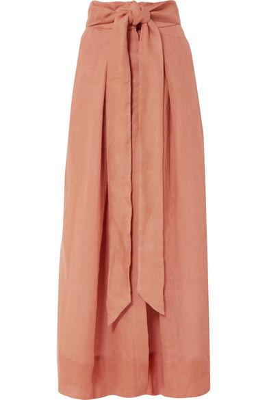 KALITA Avedon Days linen-canvas maxi skirt