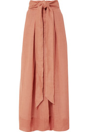 Avedon Days linen-canvas maxi skirt