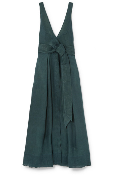KALITA Poet By The Sea linen maxi dress
