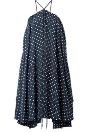 we11done Polka-dot satin dress