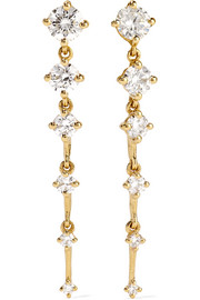 Fernando Jorge Sequence 18-karat gold diamond earrings