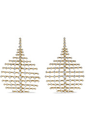 Fernando Jorge Small Disco 18-karat gold diamond earrings