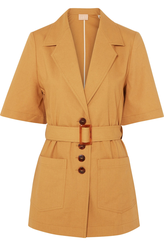 Albus Lumen Lou Lou cotton and linen-blend jacket