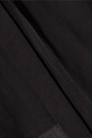 Albus Lumen Santo Oberteil aus Baumwolle mit Bindegürtel