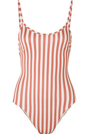 Haight Striped swimsuit