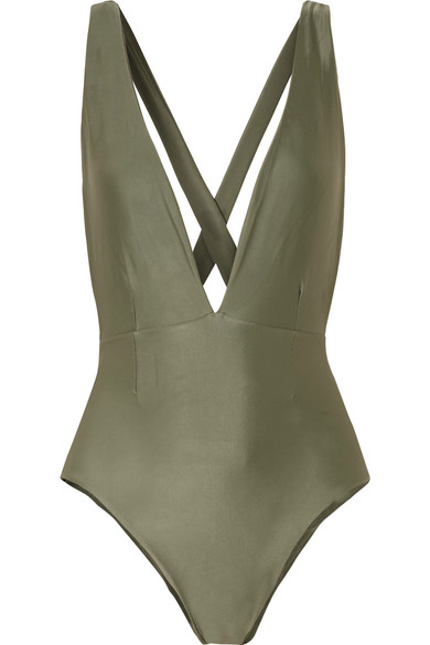 HAIGHT Marina Swimsuit in Army Green