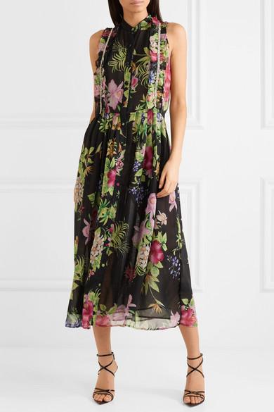 Embellished chiffon dress Dodo Bar Or AN7QDXjU7