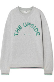 The Upside Sweat en jersey de coton imprimé Sid