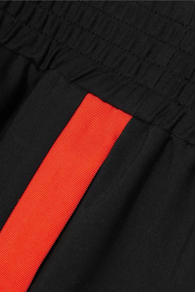 Maje Jogginghose aus einer Baumwollmischung mit Streifen