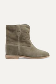 Chloé Grey Suede Blade Boots oxjOMF