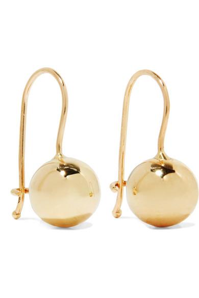 Grace Lee - Tama 14-karat Gold Earrings