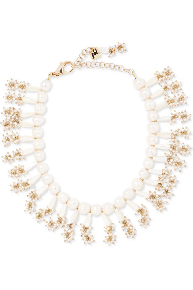 Rosantica - Amore Gold-tone Pearl Necklace