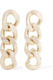 Fortuna gold-tone earrings