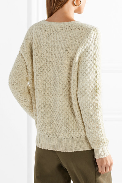 The Elder Statesman Pop Pullover aus Kaschmir in Waffelstrick