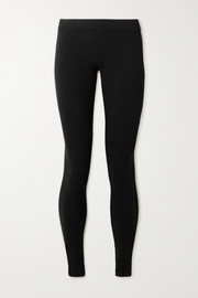 James Perse Stretch-Pima cotton jersey leggings