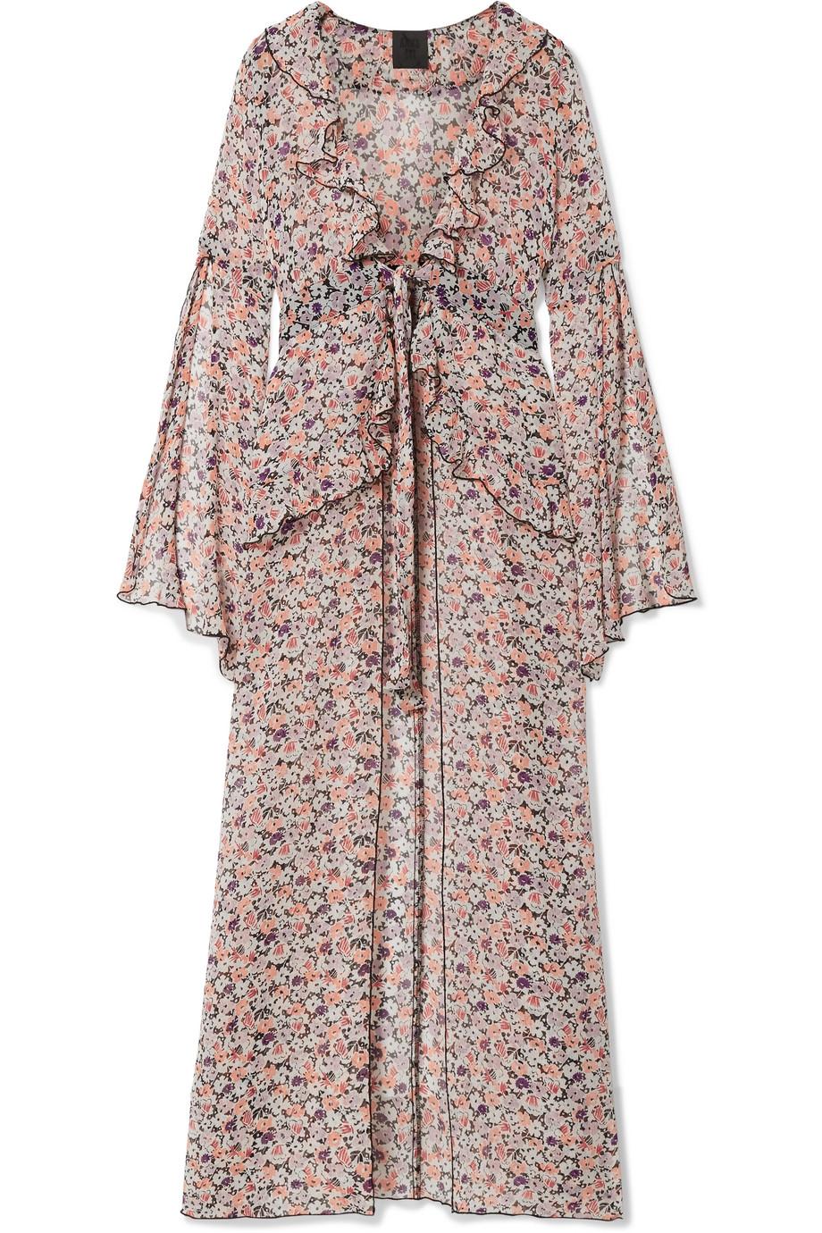 Blusa abierta de Anna Sui