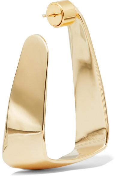 Hammock Gold-plated Earrings - one size Jennifer Fisher aIYutcjVl3